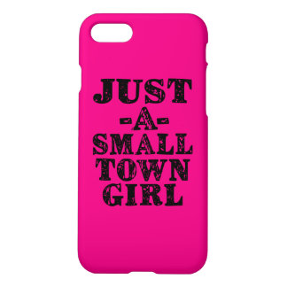 Apenas una caja divertida del teléfono del chica funda para iPhone 7