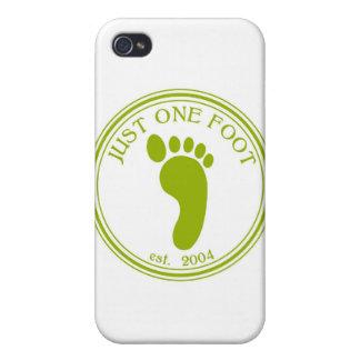 Apenas una camisa del pie iPhone 4 carcasa