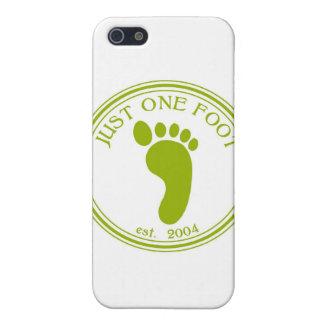 Apenas una camisa del pie iPhone 5 cárcasas