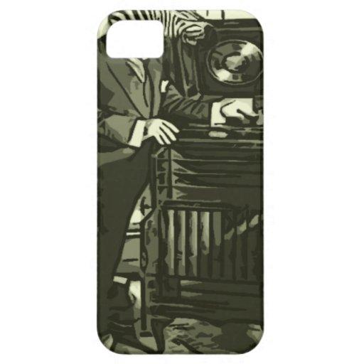 apenas una cierta música de la cebra iPhone 5 fundas