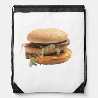Apenas una hamburguesa clásica mochila