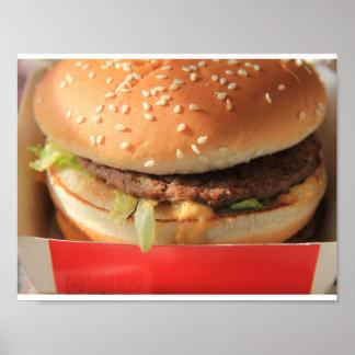 Apenas una hamburguesa clásica póster
