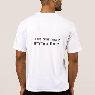 Apenas una más camisa del corredor de la milla