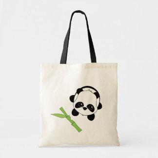 Apenas una mordedura del bambú bolsa tela barata