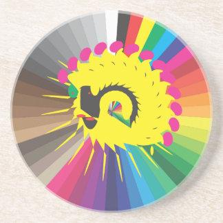 apenas una muestra del color, avatar extraño posavasos cerveza
