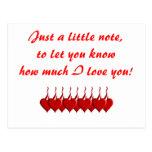Apenas una nota… postal