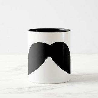 apenas una taza del bigote