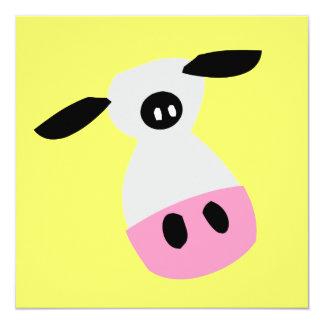 Apenas una vaca comunicados personalizados