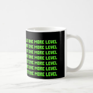 Apenas uno más nivel envició la taza de café del