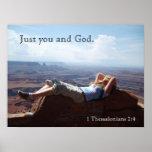 Apenas usted y dios impresiones