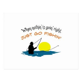 APENAS VAN FISHIN POSTALES