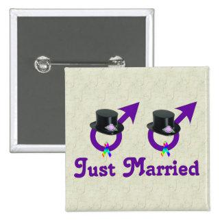 Apenas varón gay formal casado pin