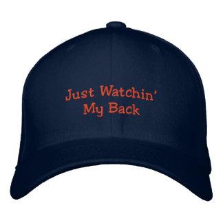 Apenas Watchin mi gorra Detrás-Humor-Bordado Gorras De Béisbol Bordadas