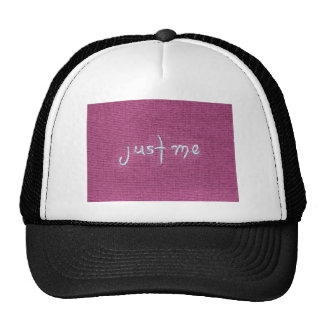 ¡Apenas yo logotipo! Gorras De Camionero