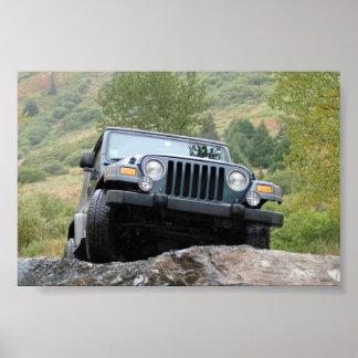 Apenas yo y mi jeep - por Logan Guinn Impresiones