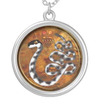 apepi/apophis round pendant necklace
