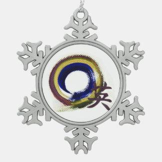 Aperature del valor - Enso Adorno De Peltre En Forma De Copo De Nieve