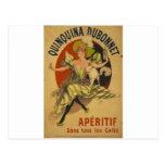 Aperitif - Quinquina Dubonnet Postcard