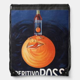 Aperitivo Rossi Drawstring Bag