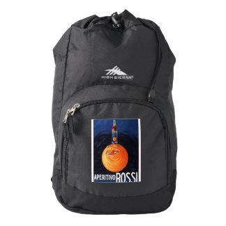 Aperitivo Rossi High Sierra Backpack