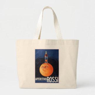 Aperitivo Rossi Large Tote Bag