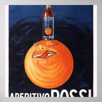 Aperitivo Rossi Poster
