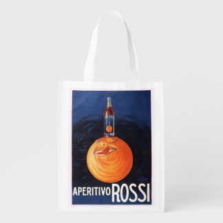 Aperitivo Rossi Reusable Grocery Bags