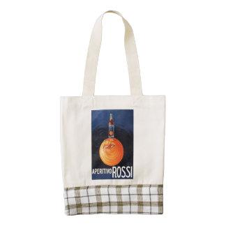 Aperitivo Rossi Zazzle HEART Tote Bag