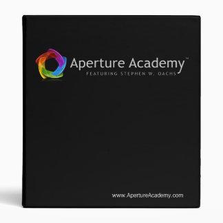Aperture Academy Binder