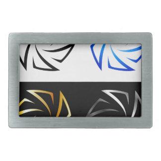 Aperture in different colors belt buckle