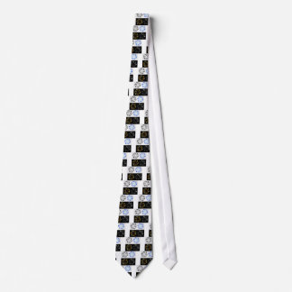 Aperture in different colors neck tie