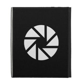 Aperture Pictogram iPad Caseable Folio iPad Cases