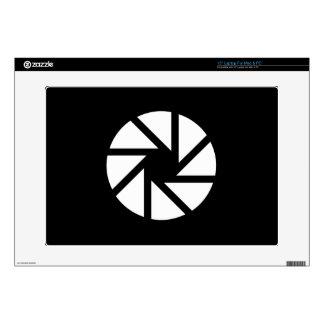 Aperture Pictogram Latop Skin Laptop Decal