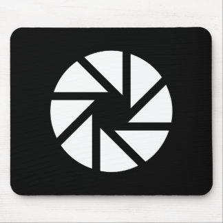 Aperture Pictogram Mousepad