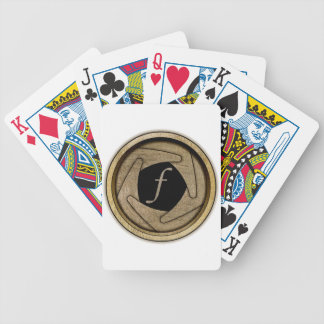 Aperture Playing Cards Bicycle Playing Cards