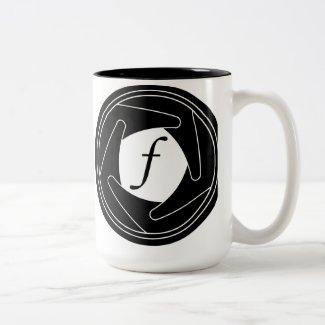 Aperture Silhouette Mug