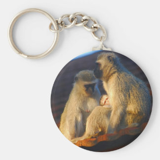 Apes family moments key chains
