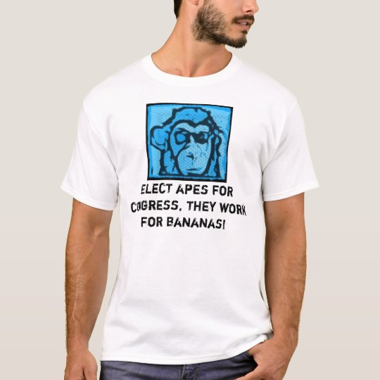 Apes For Congress Shirt