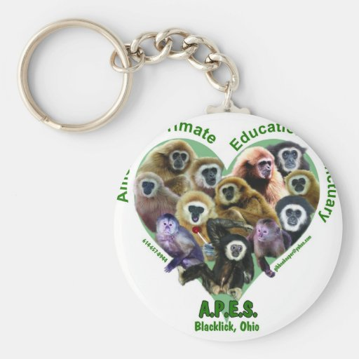 APES Goods for Good Keychain