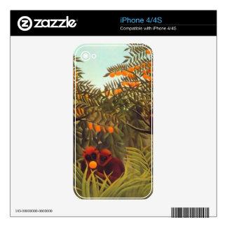 apes in the orange grove iPhone 4 decals