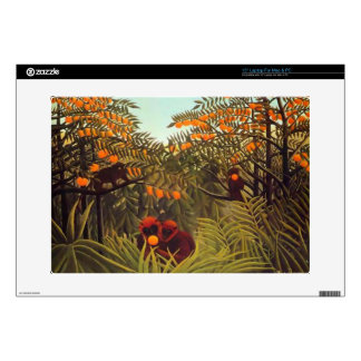 """apes in the orange grove 15"""" laptop decal"""