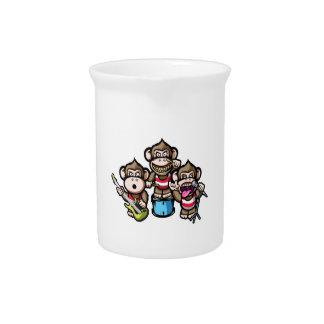 Apes Rock Beverage Pitcher