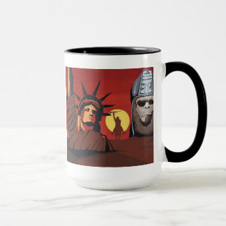 Apes rules the World mug