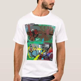 Apes Vs. Robots T-Shirt