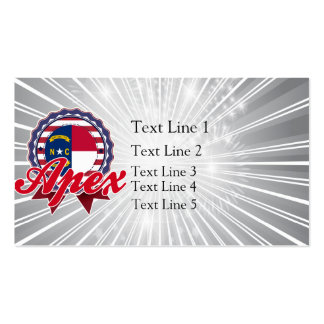Apex, NC Double-Sided Standard Business Cards (Pack Of 100)