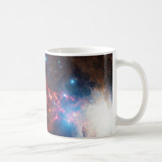 APEX View of a Star Formation in the Orion Nebula Coffee Mug