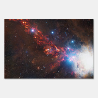 APEX View of a Star Formation in the Orion Nebula Yard Sign