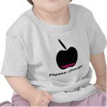 Apfel Akku leer Shirts