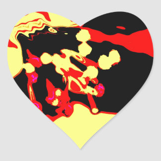 Apfelblüte Pegatina En Forma De Corazón