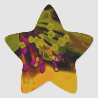 Apfelblüte Pegatina En Forma De Estrella
